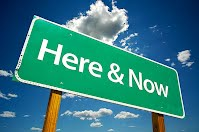 Here and now signpost taken from https://www.off2class.com/present-simple/ - here and now